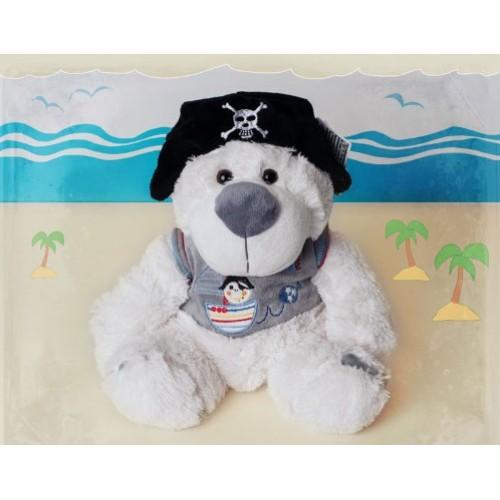 Мягкая игрушка Пират в шапке