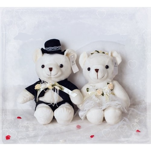 Мягкая игрушка Мишка невеста/жених