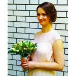 """Букет """" Свадебный с тюльпанами"""""""