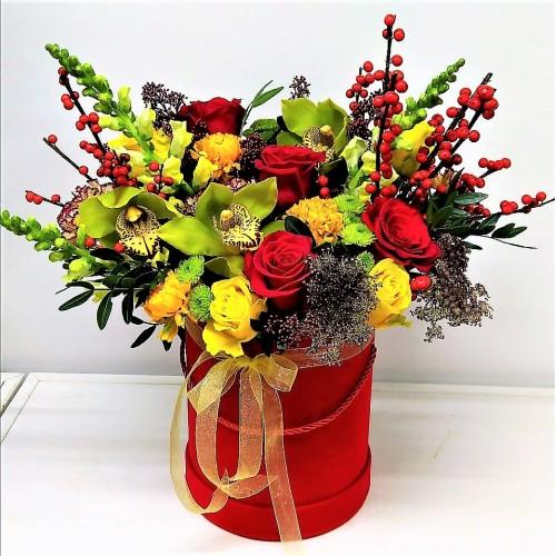 """Коробка """" Цветочный рай"""""""