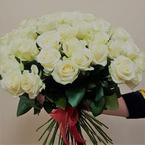 "Букет "" Белая роза"""